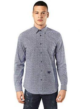 Pánská modro bílá košile Diesel S-DUNY