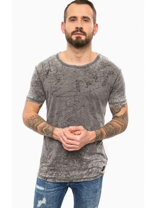 Pánské oversize šedé triko Pepe Jeans COURT - 919 CONCEPT STORE 7328baa8f1