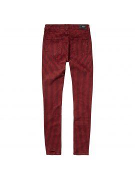 Pruhované slim džíny Pepe Jeans střih REGENT STRIPE