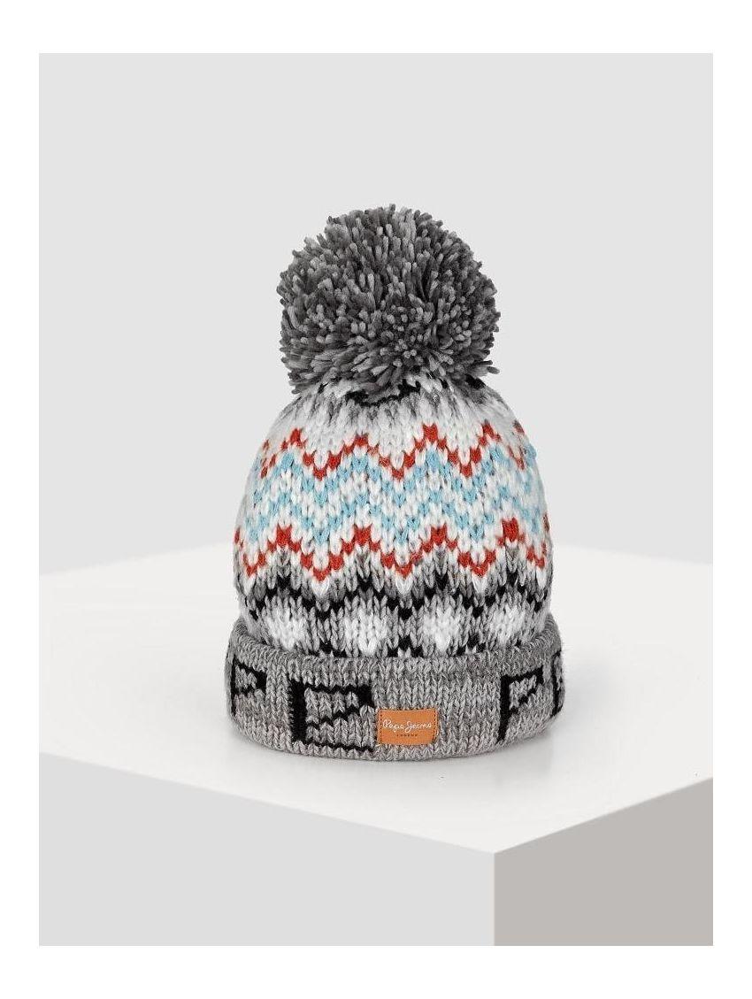 e06f137b86b Dámská zimní pletená čepice Pepe Jeans KOZMA - 919 CONCEPT STORE