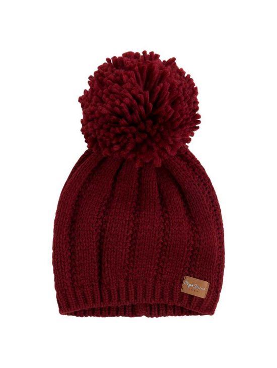 Dámská zimní čepice Pepe Jeans ELISSA červená - 919 CONCEPT STORE 741c003725