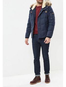 Pánská modrá zimní bunda Pepe Jeans DRURY
