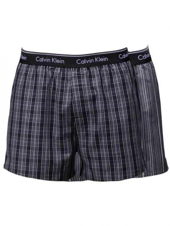 Pánské volné trenky Calvin Klein Dvojbalení