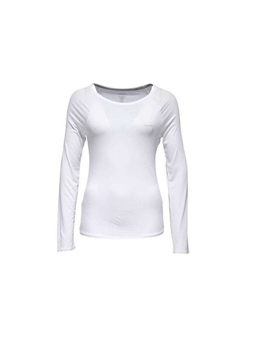c4dcde731 Dámské bílé triko dlouhý rukáv Calvin Klein QS5493E - 919 CONCEPT STORE