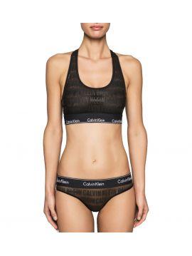 Černá bralette podprsenka Calvin Klein QF1879E