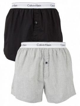 Boxerky Calvin Klein SLIM FIT dvojbalení