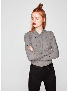 Kostkovaná dámská košile Pepe Jeans ARIZONA