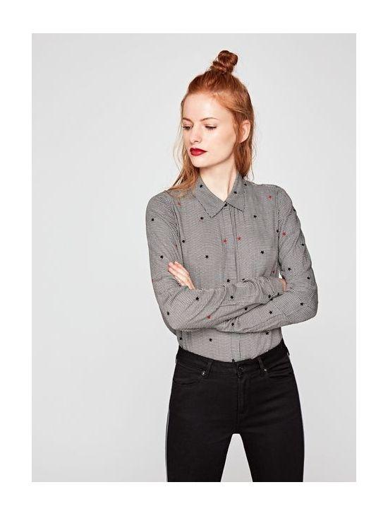 b815163c36a Kostkovaná dámská košile Pepe Jeans ARIZONA - 919 CONCEPT STORE