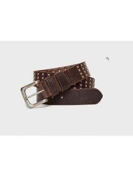 Pánský hnědý kožený pásek Pepe Jeans CLIPSTONE