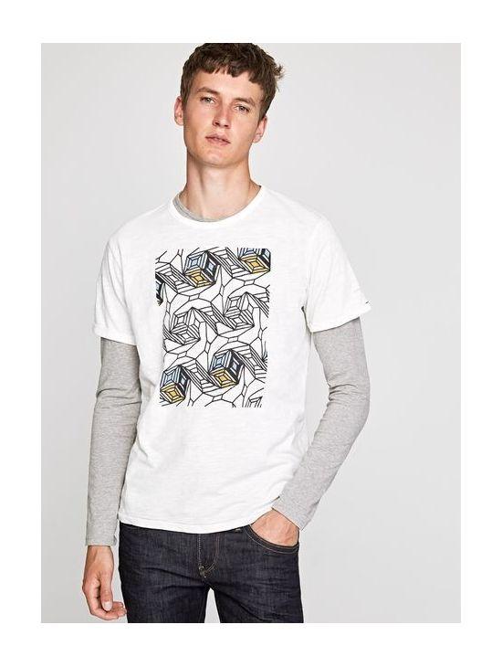 Pánské triko s krátkým rukávem Pepe Jeans STONE - 919 CONCEPT STORE ab068aab62