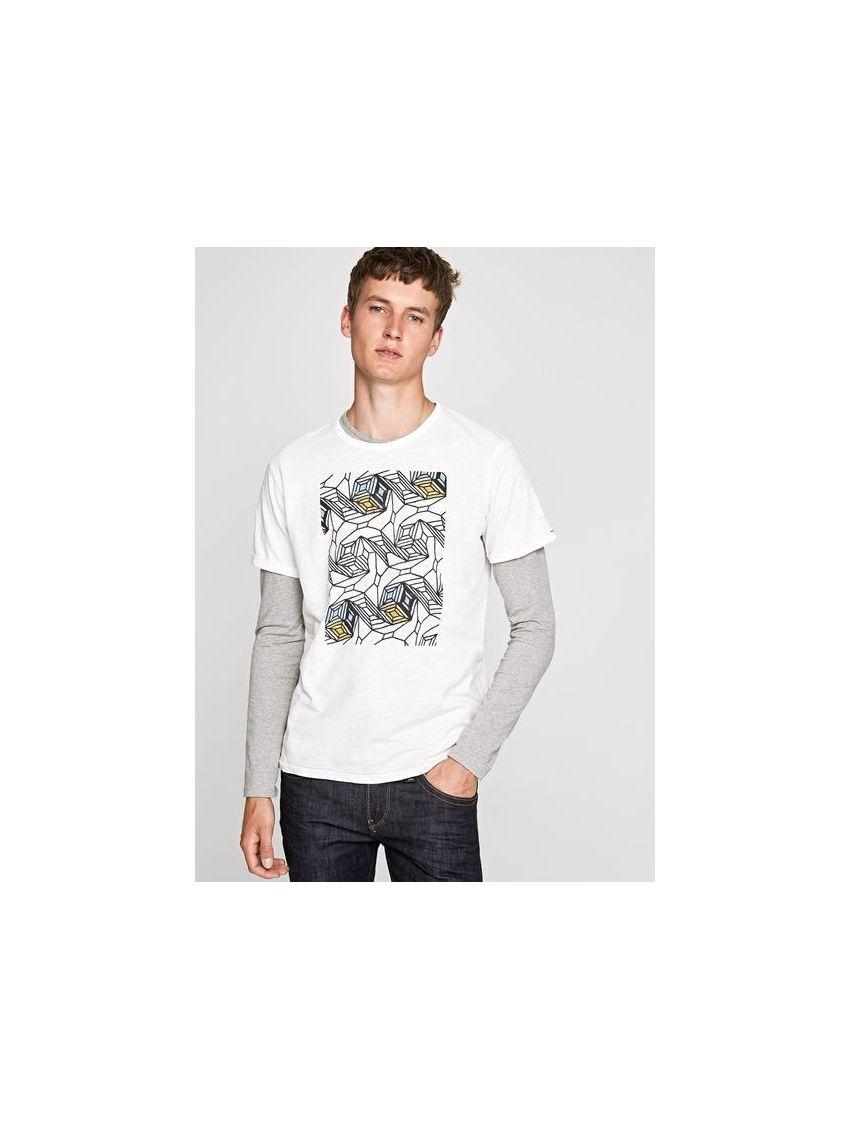 Pánské triko s krátkým rukávem Pepe Jeans STONE - 919 CONCEPT STORE 6dd9c3af57
