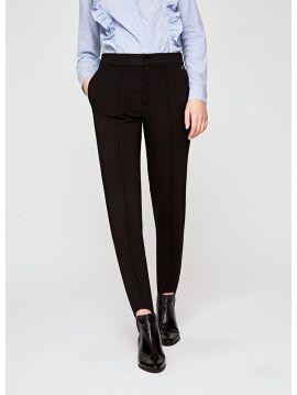 Dámské černé kalhoty kaliopky Pepe Jeans POLA