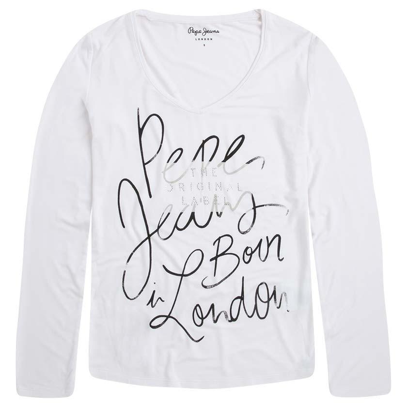 Dámské triko dlouhý rukáv Pepe Jeans Claudia - 919 CONCEPT STORE 512bfc5d13