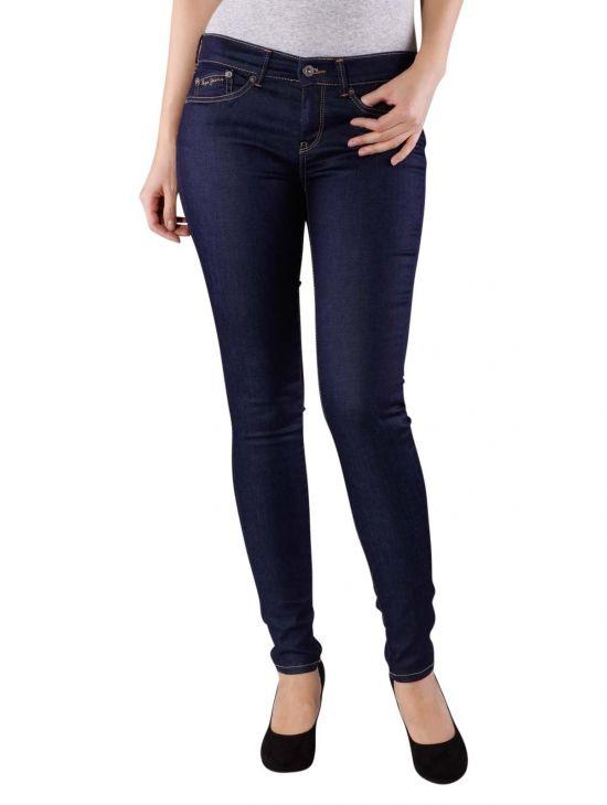 Tmavomodré džíny Pepe Jeans PIXIE pro boubelku