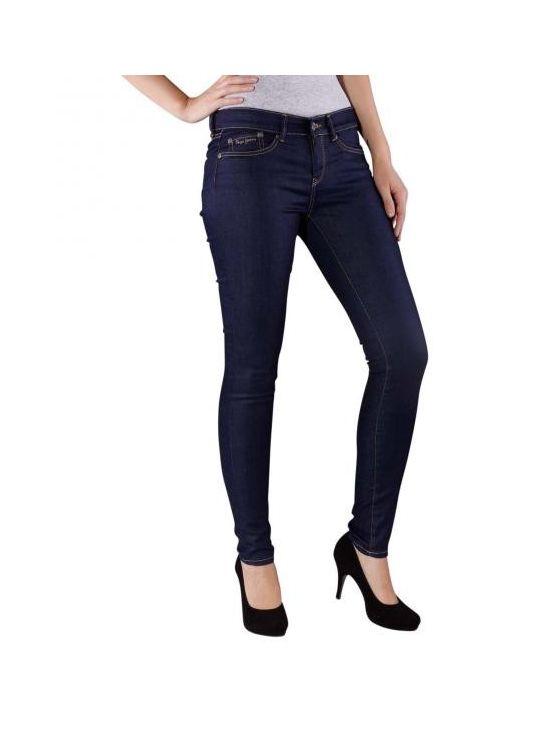 Tmavomodré džíny Pepe Jeans PIXIE pro boubelkub