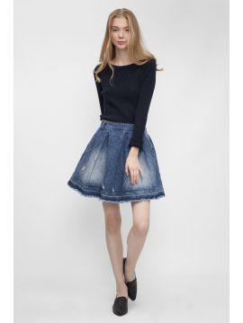 Dámská denim sukně Pepe Jeans PINCHO SKIRT