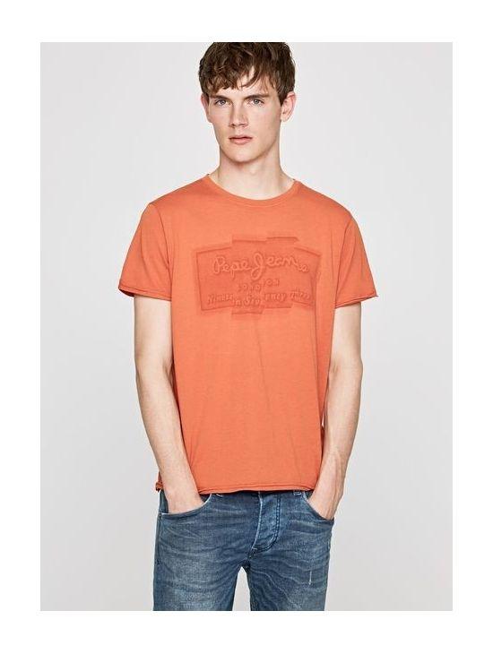 Pánské oranžové triko Pepe Jeans IZZO - 919 CONCEPT STORE 008531ebf1