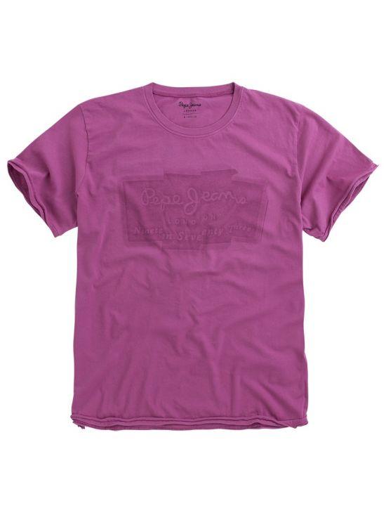Pánské růžové triko Pepe Jeans IZZO - 919 CONCEPT STORE 0e2383eade