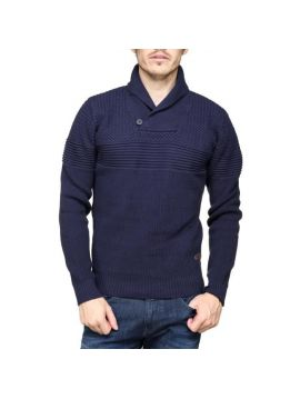 Pánský modrý svetr Pepe Jeans LANCASTER
