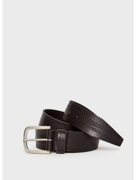 Pánský opasek Pepe Jeans LAHAM černý