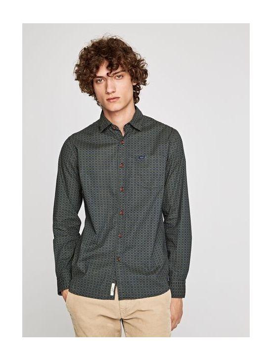 Pánská zelená košile se vzorem Pepe Jeans MONTAGUE - 919 CONCEPT STORE 119ef22b0a