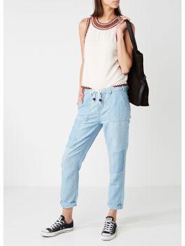 Dámské letní kalhoty Pepe Jeans LABYRINTH PANT