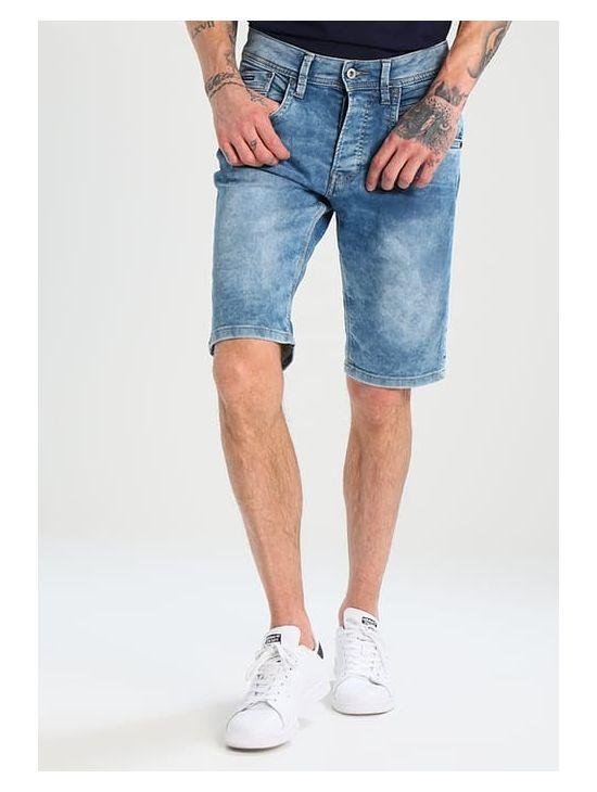 Pánské denim kraťasy Pepe Jeans TRACK SHORT 1