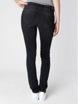Tmavě šedé pružné džíny Pepe Jeans SL-NEW BROOKE 2