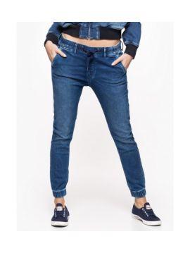 fcc12e237f9 Pohodlné tmavě modré džíny Pepe Jeans JG-COSIE