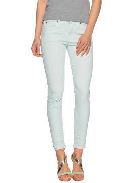 Slim pistáciové džíny ke kotníku Pepe Jeans LOLA
