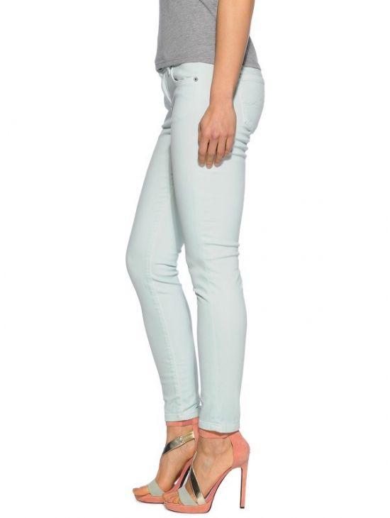 Slim pistáciové džíny ke kotníku Pepe Jeans LOLAa
