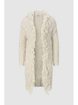 Dámský svetr cardigan s třásněmi Rich&Royal 63Q150