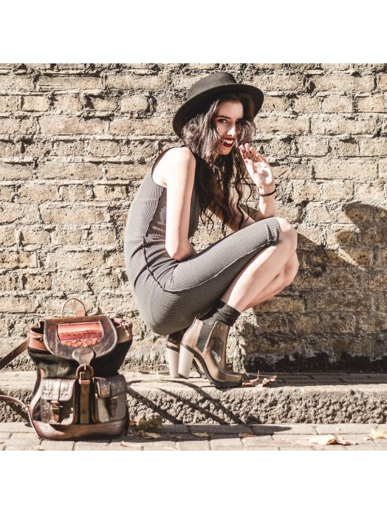 Kotníkové dámské boty Melissa SOLDIER