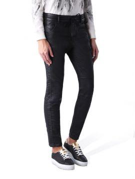 Joggjeans černé džíny kožený efekt Diesel KRAILEY-SP-NE
