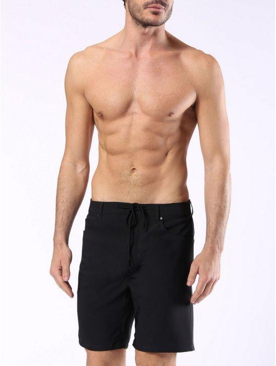 Pánské černé plavky šortky Diesel WAYKEEKI