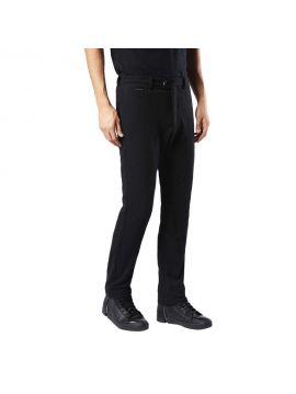Pánské černé jersey chinos kalhoty Diesel P-SEED
