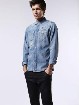 Pánská džínová košile Diesel D-BROOME