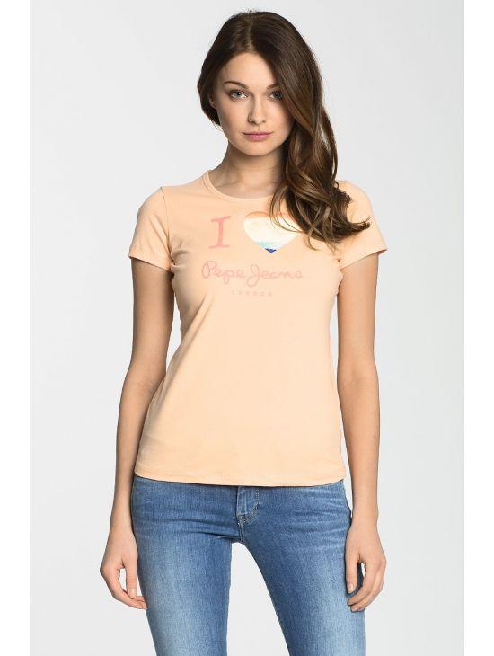 Dámské tričko na tělo Pepe Jeans DOVER