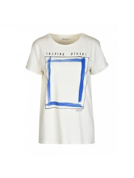 Dámské triko INSPIRE OTHERS Pepe Jeans BRUNAa