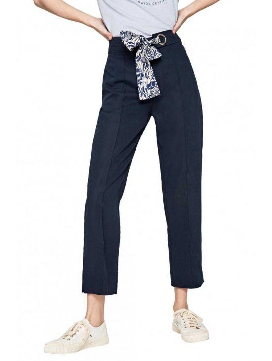 4bfbe61377f3 Dámské modré elegantní kalhoty Pepe Jeans ANNE - 919 CONCEPT STORE