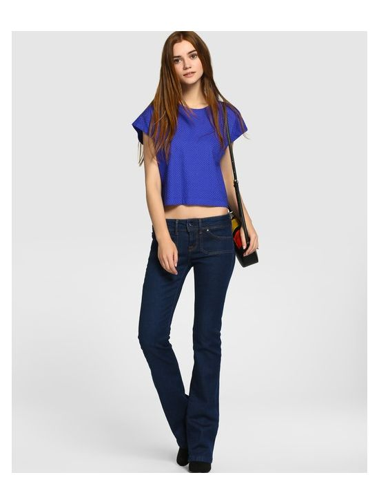 Fashion džíny do zvonu Pepe Jeans MOJO