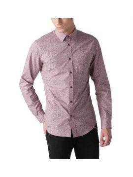 Pánská slim košile bez kapsy Diesel S-NOISE