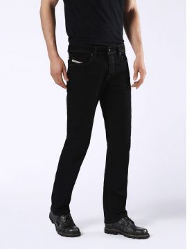 Černé rovné džíny Diesel WAYKEE 0886Z