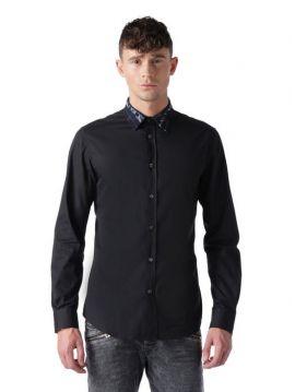 Pánská košile s džínovým límečkem Diesel S-OZZY