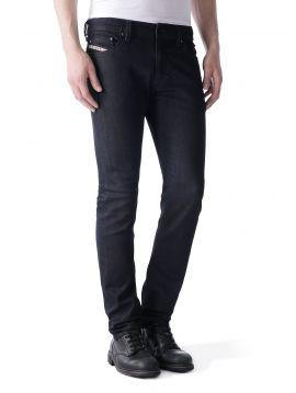 Slim džíny z RAW denimu Diesel THAVAR 0607A