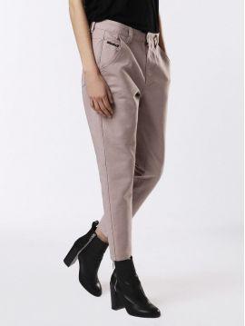 Plátěné dámské kalhoty Diesel FAYZA-EVO-A