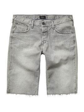 Pánské šedé džínové kraťasy Pepe Jeans CHAP