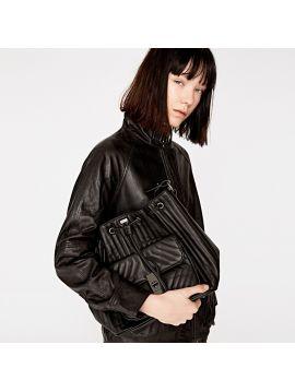 Černá stahovací kabelka Pepe Jeans REINEb