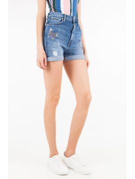 Kraťasy s vysokým pasem Pepe Jeans BETTY