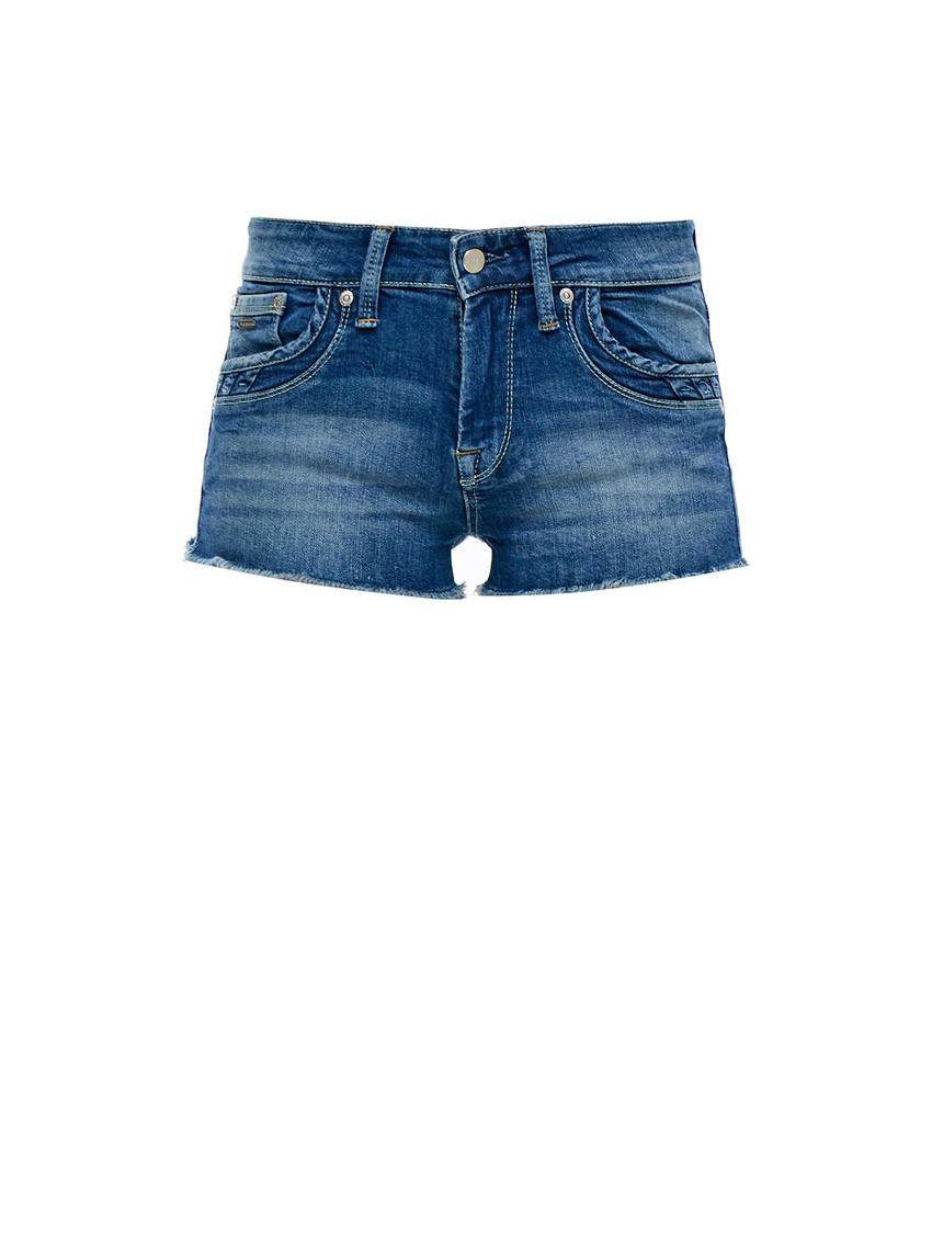658d40923e5 Kraťasy s otřepanými konci Pepe Jeans RIPPLE - 919 CONCEPT STORE
